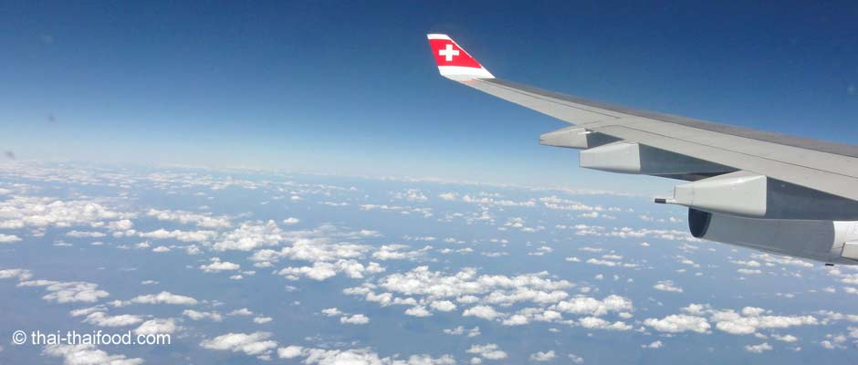 Flugreise nach Bangkok