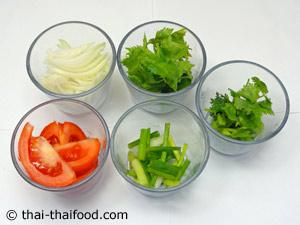 Thai Salatzutaten