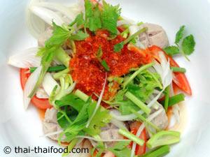 Scharfer Thai Salat