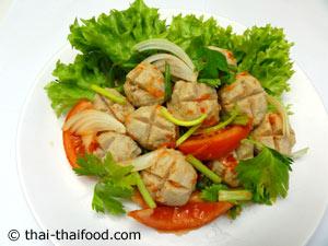 Thai Salat scharf