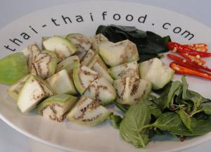 Grünes Curry Gemüse