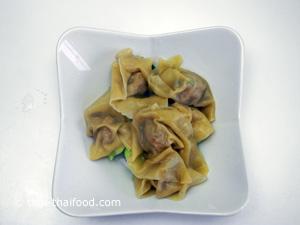 Gekochte Dumplings