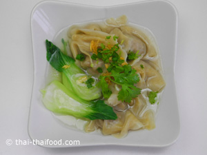 Wan Tan Suppe fertig