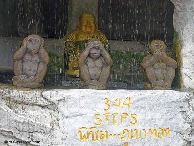 Treppenstufen zum Wat Saket