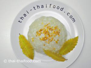 Thailändischer Reis mit Kokosmilch