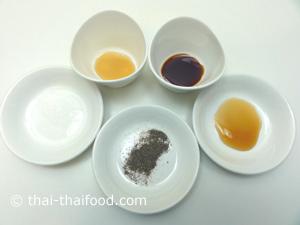 Thai Gewürze Fischsuppe