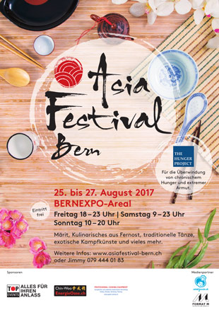 Asia Festival Bern - asiatisches Food Fest in Bern