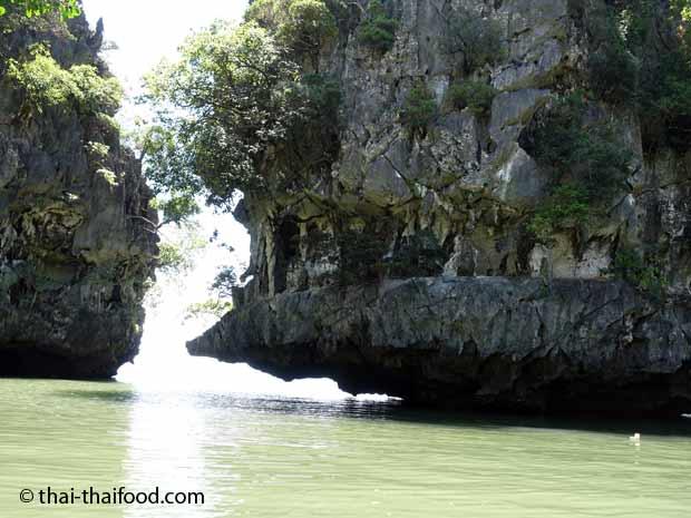 Felsen im Ao Phang Nga Nationalpark