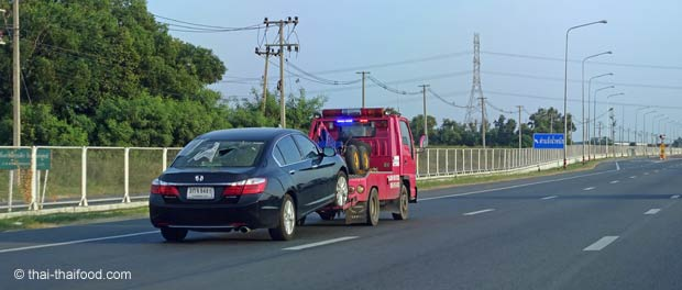 Abschleppwagen Thailand