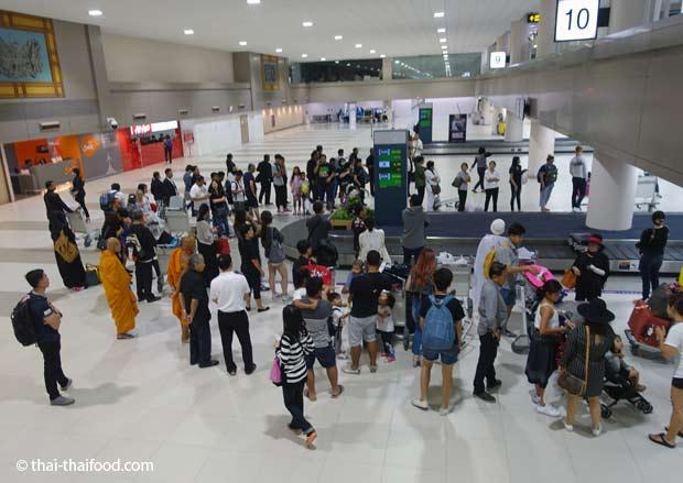Gepäckausgabe Don Mueang Flughafen
