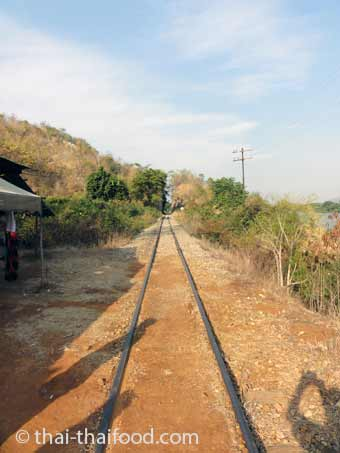 Thailändische Bahnlinie