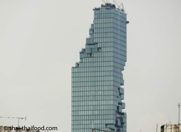 Balkone am MahaNakhon Tower