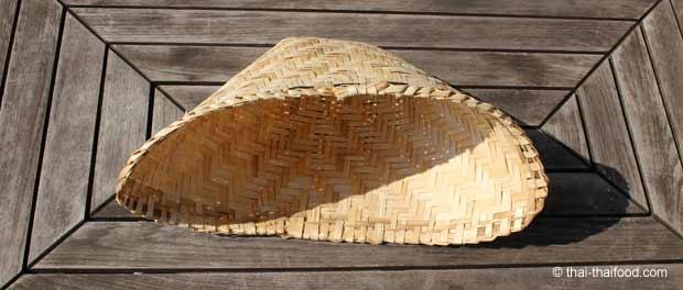 Bambus Dampfkörbchen Einsatz für Laos Dampftopf