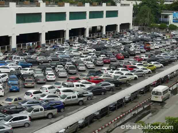 Parkplatz in Bangkok