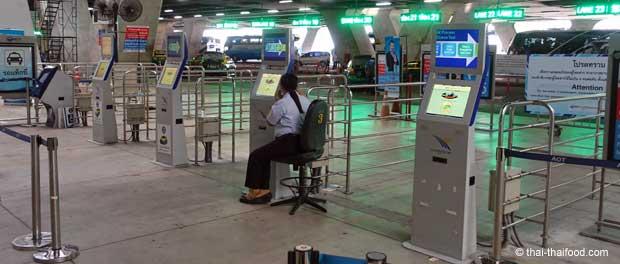 Taxi Tickets am Flughafen Bangkok