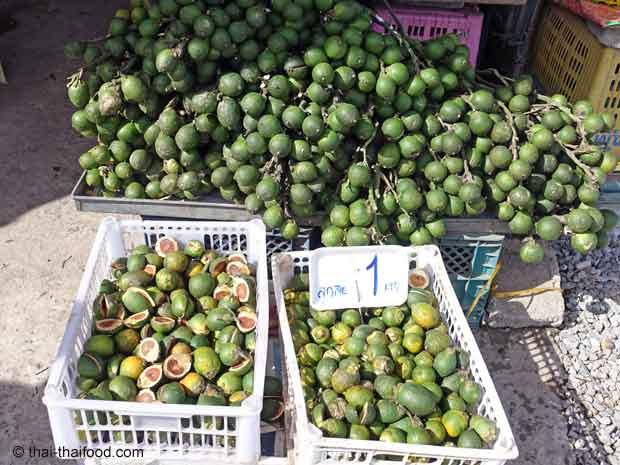 Betelnuss Verkauf in Thailand