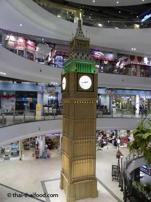 Big Ben im Terminal 21 Korat