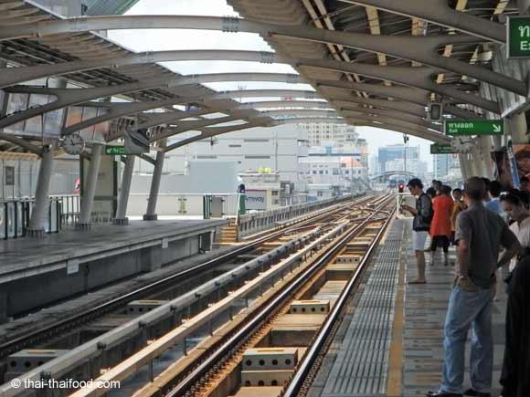 Gleise Skytrain