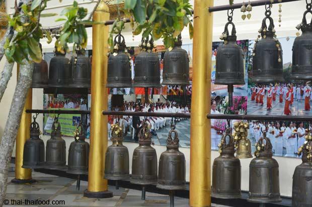 Buddhistische Gebetsglocken
