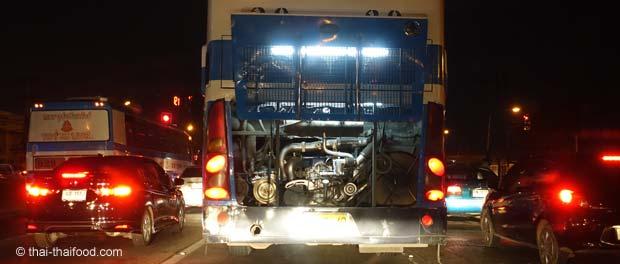 Bus kühlt Motor