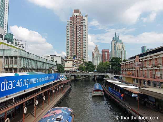 Die Kanäle von Bangkok