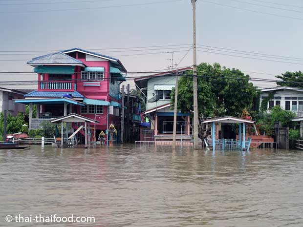 Chao Phraya Hochwasser