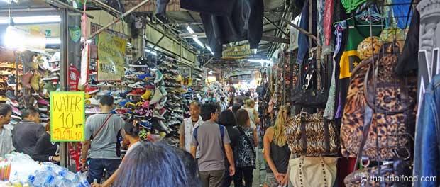 Ein Gang durch die Chatuchak Shops