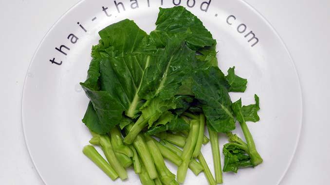 Chinesischer Brokkoli Pak Kanaa