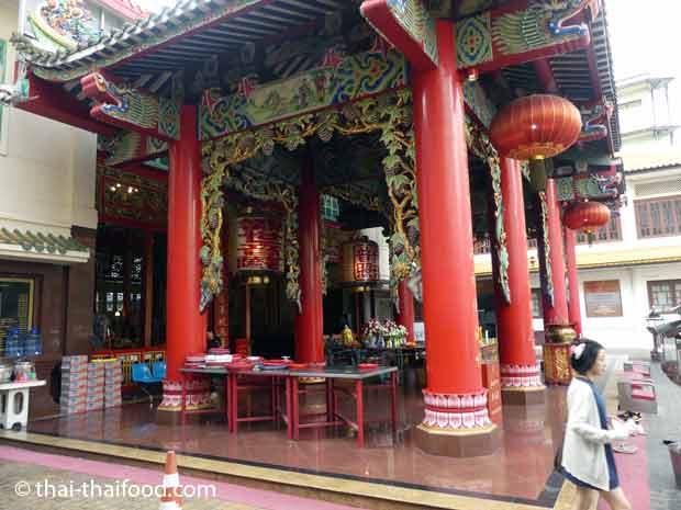 Schrein in Bangkok Chinatown