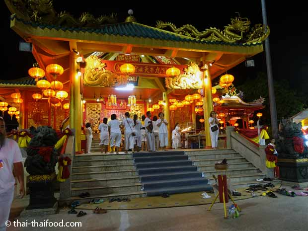 Chinesischer Tempel in Phuket
