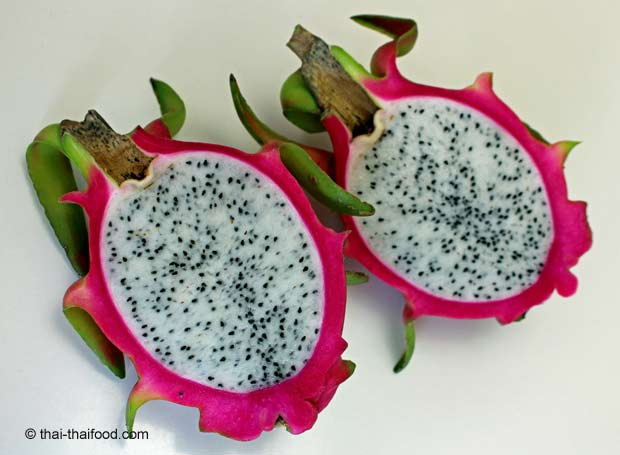 halbe Drachenfrucht