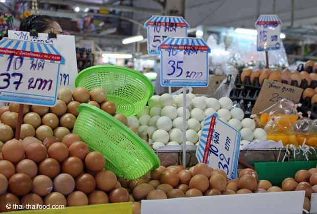 Verkauf von Eier in Thailand