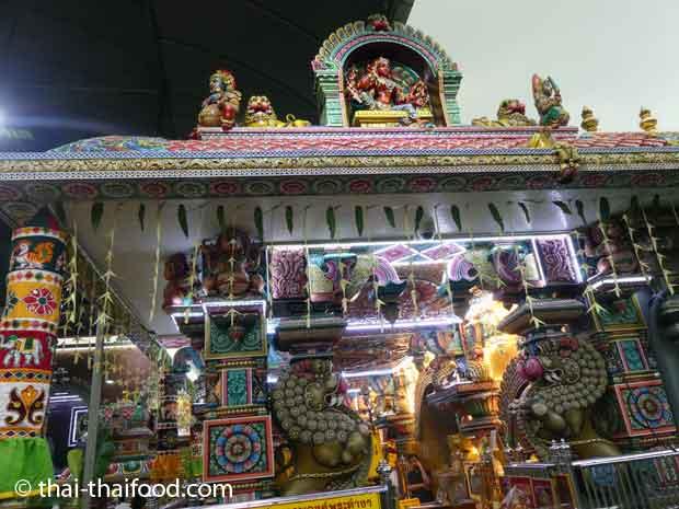 Innerer Eingang zum Tempel