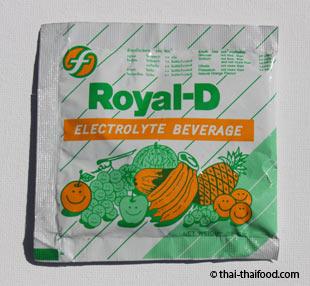 Elektrolyte aus der Apotheke in Thailand