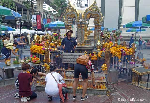 Erawan Schrein in Bangkok