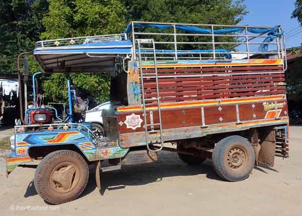 Thailändischer Etan Truck