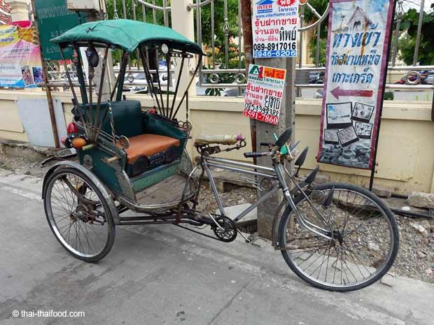 Fahrrad Rikscha Thailand