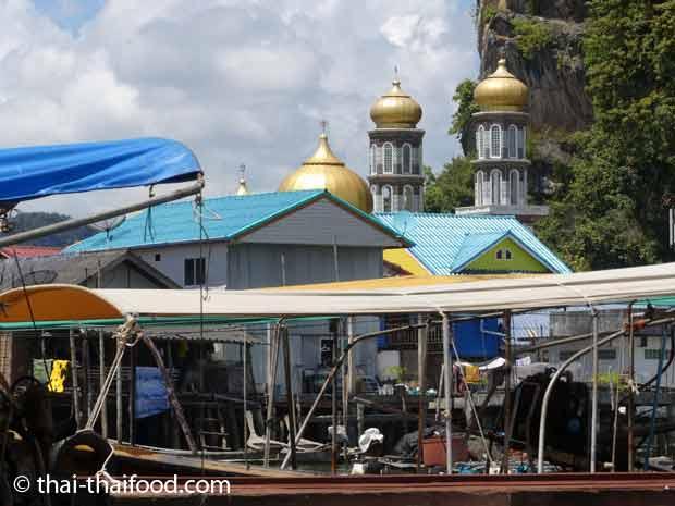 Muslimisches Fischerdorf Thailand