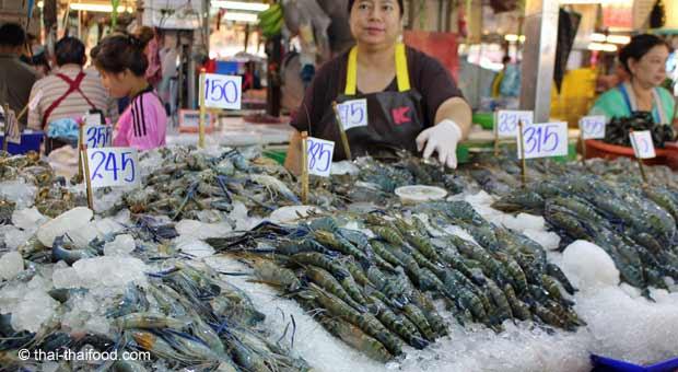 Garnelen in Thailand kaufen