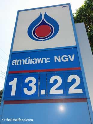 Preis für 1 Liter Gas = Preis 1/4 Gallone Gas