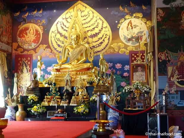 Versammlungsraum der Mönche Ubosoth Wat Srinagarin