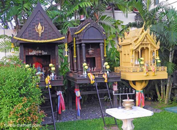 Geisterhäuser auf Koh Chang