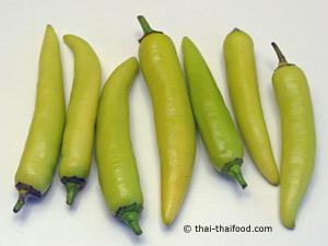 Gelbe Chili