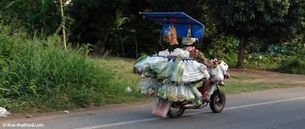 Gemüseverkäufer Thailand