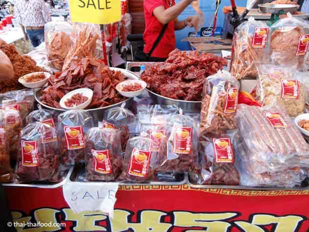 Getrocknetes Fleisch in Thailand kaufen