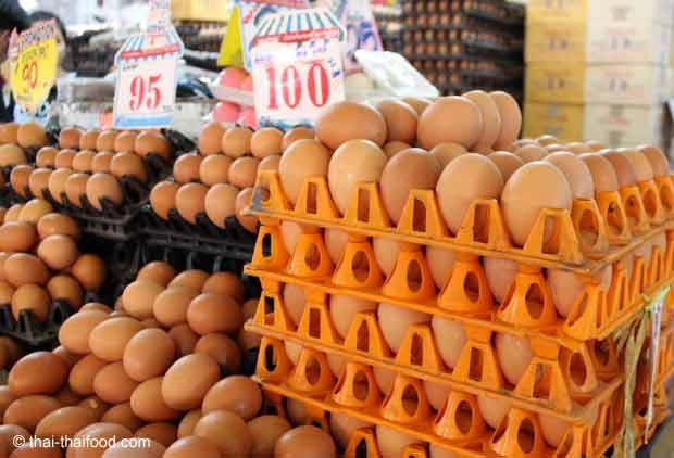 Thailändische Hühnereier