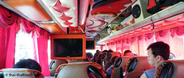 Bustransfer vom Flughafen Surat Thani zum Don Sak Pier