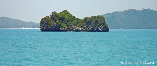 Kleine Insel vor Koh Samui