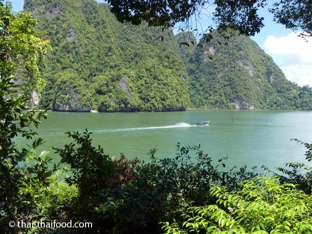 Inseln der Phang Nga Bucht - Ausblick von der James Bond Insel