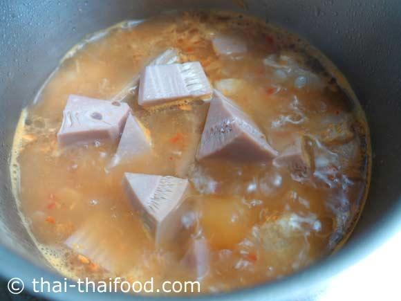 Jackfrucht Gäng Khanun Curry Paste
